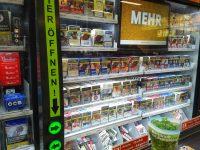 Tabak Werbung bei Kaufland